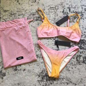 Triangl Cameron Sunrise Ombré Bikini Set